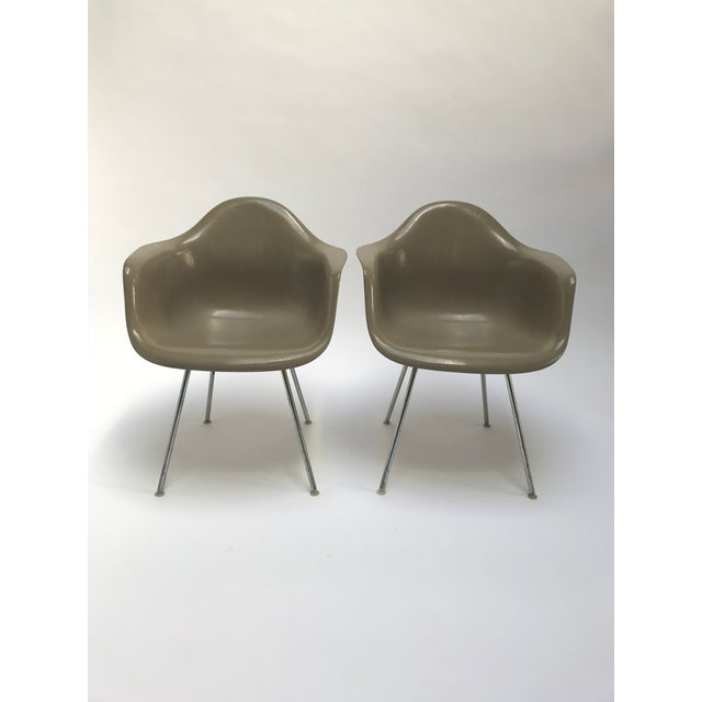 Vintage Eames Armchairs for Herman Miller - a Pair - Image 11 of 11