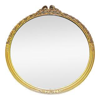 Gilt Round Mirror