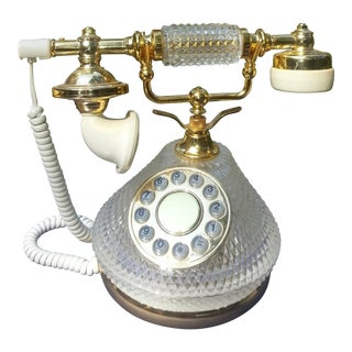 1970s Mid-Century Phone