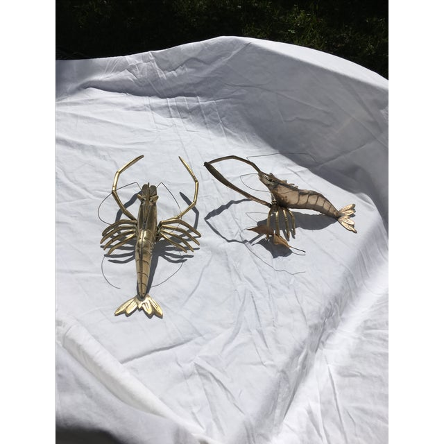 Brass Lobsters - Pair - Image 5 of 6