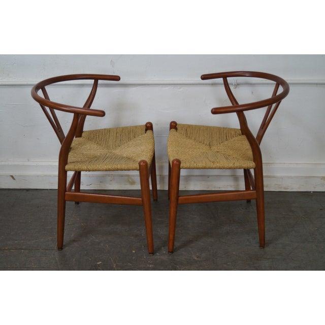Hans Wegner Carl Hansen & Son Danish Modern Wishbone Chairs- A Pair - Image 3 of 10
