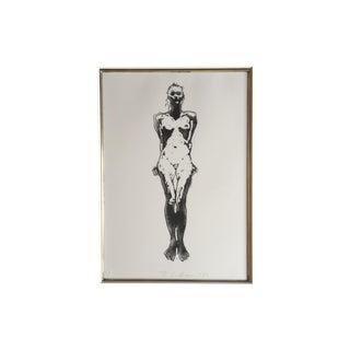 Fine Art Nude Etching