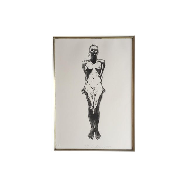 Fine Art Nude Etching - Image 1 of 4