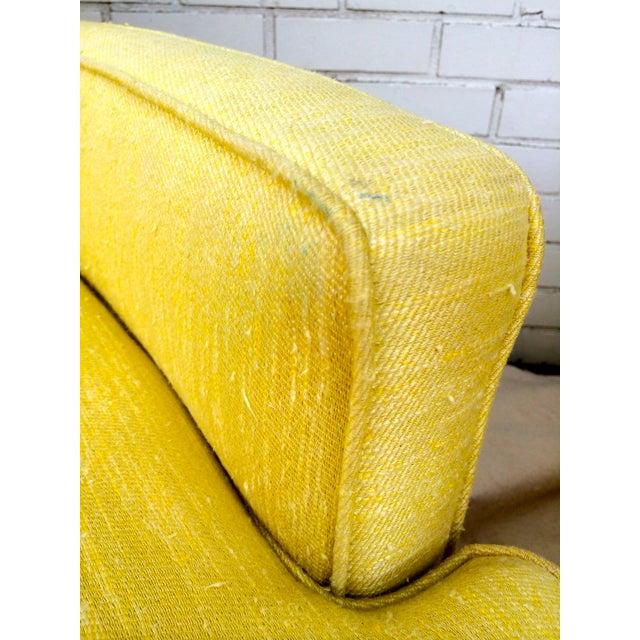 1960s Yellow Swivel Club Chairs - Image 9 of 10