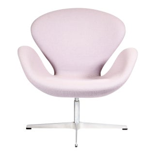 Arne Jacobsen Lavender Swan Chair