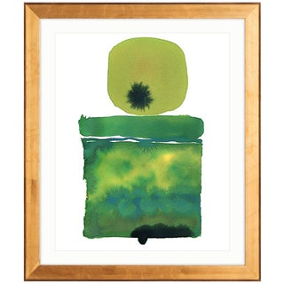 Zoe Bios Creative, Classic Brights - Jade Shelf Abstract Framed Print