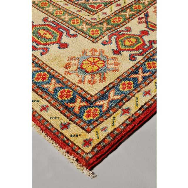 Pakistani Kazak Rug - 7′5″ × 9′ - Image 6 of 6