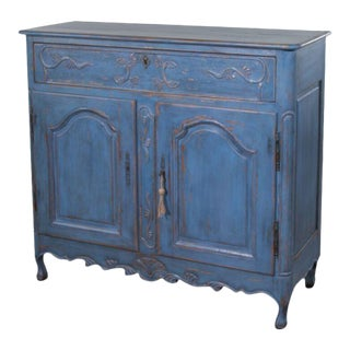 Sarreid Ltd Blue Buffet Cabinet