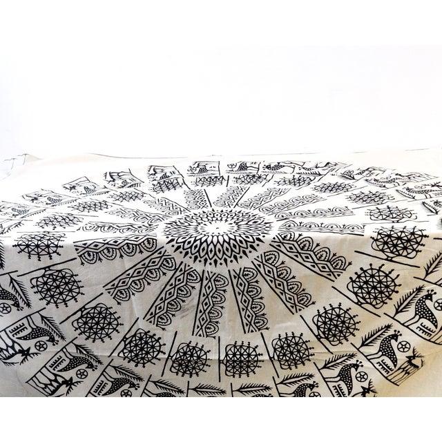 Turkish Cloth Tokat Yazma Throw or Tablecloth - Image 3 of 5