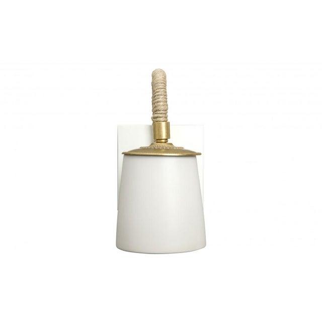 White Beacon Sconce - Image 2 of 5