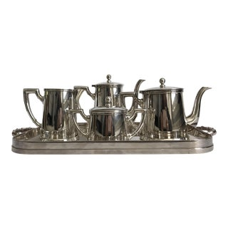 Soppil Silver Tea & Coffee Service - Set of 5