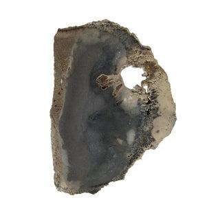 Gray Mineral Slice