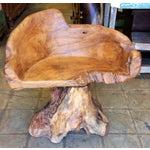 Image of Teak Root Chair