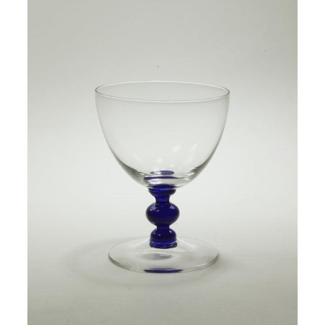 Vintage Art Deco Crystal Aperitif Stemware - Set/8 - Image 5 of 6