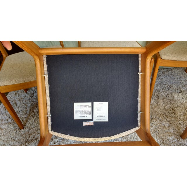 D-Scan Vintage Teak Dining Chairs - Set of 6 - Image 9 of 9