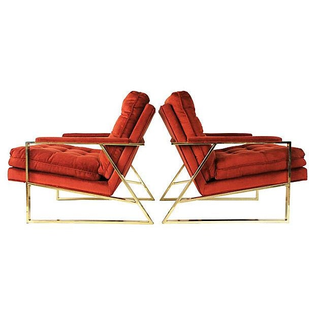 Mid-Century Lounge Chairs - A Pair - Image 4 of 9