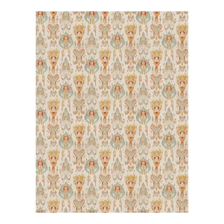 "Mill Creek's ""Module"" Ikat in ""Desert Storm"" Fabric - 3.5 Yards"