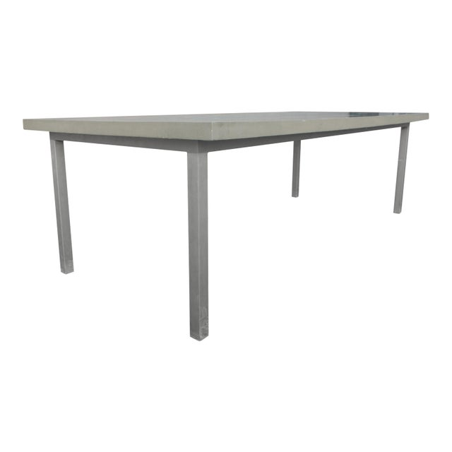 Organic Seashells Modern Dining Table - Image 5 of 7