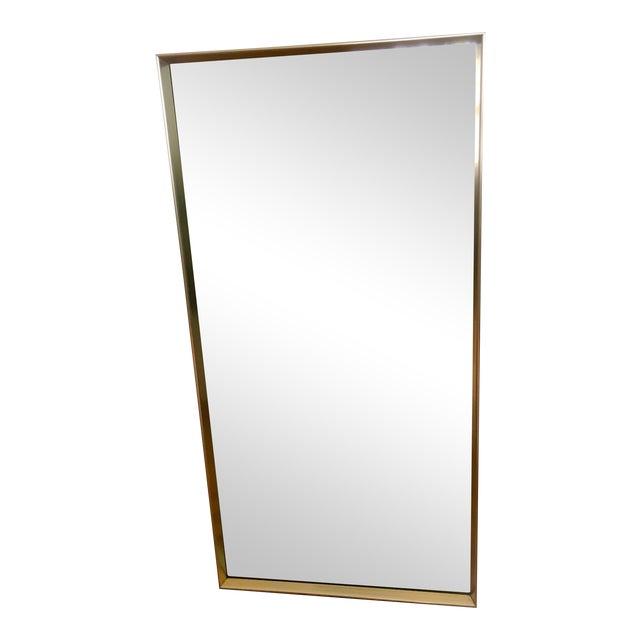 Vintage Modern Gold Frame Mirror - Image 1 of 8