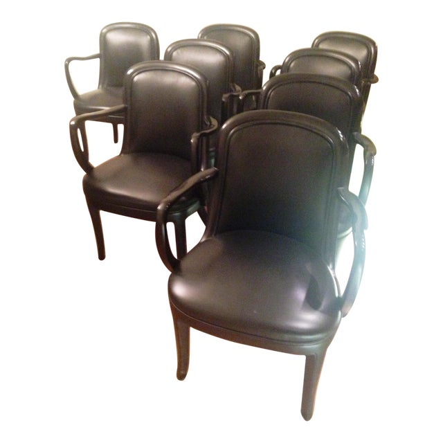 Donghia Dining Chairs - Set of 8 - Image 1 of 8