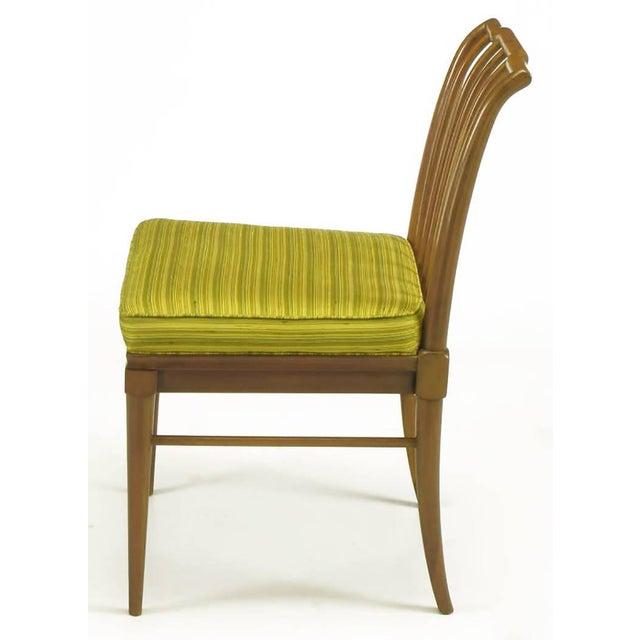Six J. Stuart Clingman Dining Chairs by John Widdicomb - Image 4 of 10