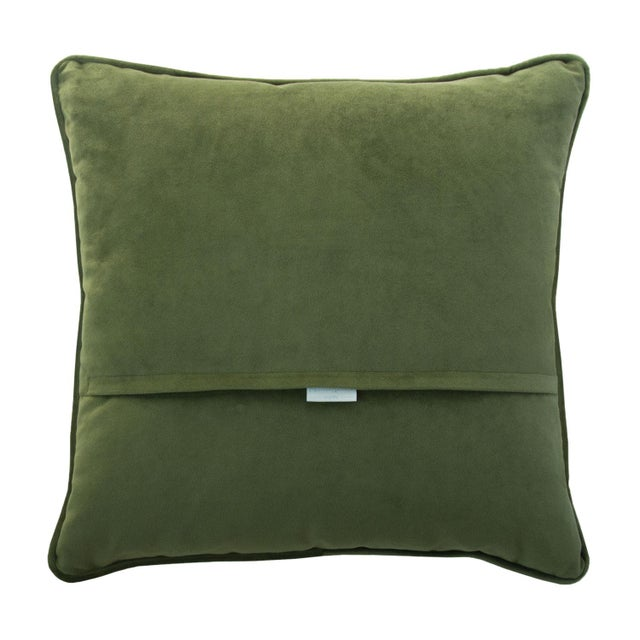 """Image of Maroc Pillow - Green & Gold 19"""""""