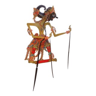 Indonesian Shadow Puppet, Wayang Kulit, Dursasana