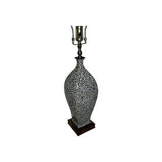 Castilian Porcelain Leopard Print Lamp