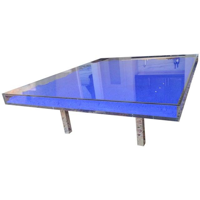 Yves Klein Table Bleu Style Coffee Table Chairish