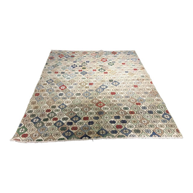 "Bellwether Rugs Vintage Turkish Zeki Muren Rug - 5'9""x7'5"" - Image 1 of 8"