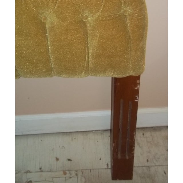 Vintage 1960s King Size Tufted Headboard - Image 5 of 7