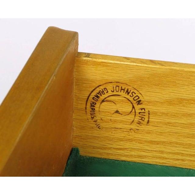 Renzo Rutili Bleached Mahogany and White Micarta Long Cabinet - Image 8 of 8