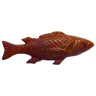 1920s Cod Fish Weathervane