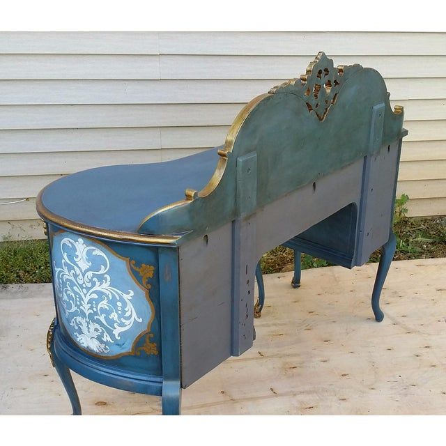 Hand-Painted French Desk - Image 5 of 10