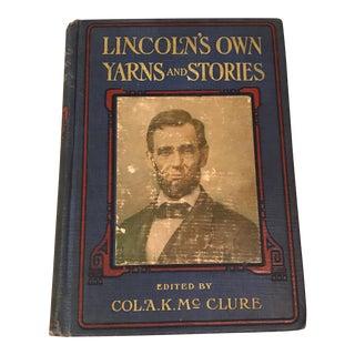 Vintage Abraham Lincoln Book