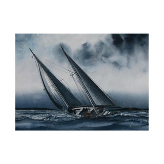 """""""Sails of Blue"""" Painting"""