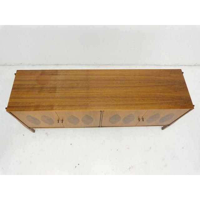 Kipp Stewart for Calvin Furniture Teak & Rosewood Inlay Sideboard - Image 6 of 11
