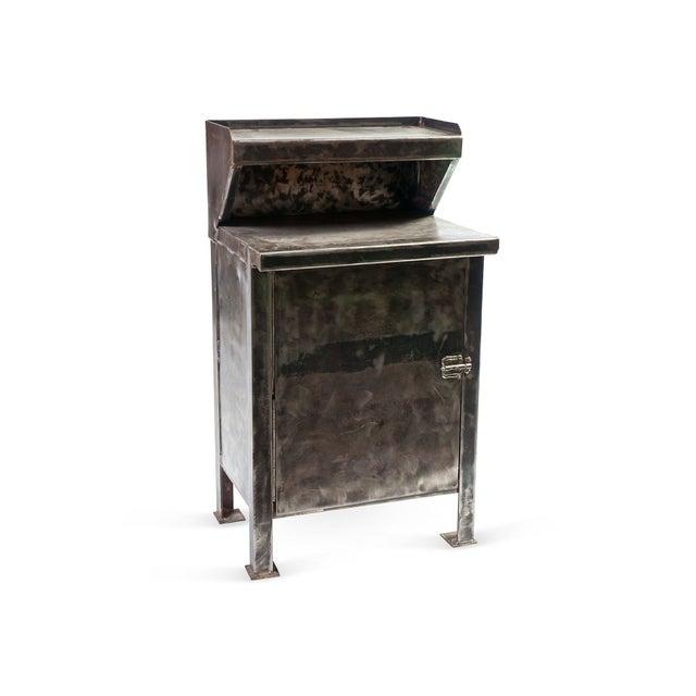 Vintage Metal Cabinet - Image 2 of 3