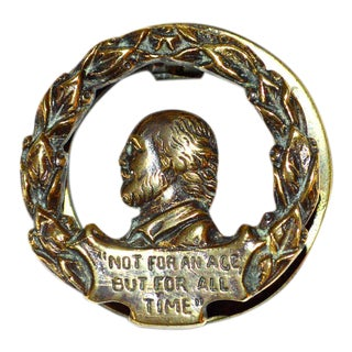 Shakespeare 'For All Time' Door Knocker