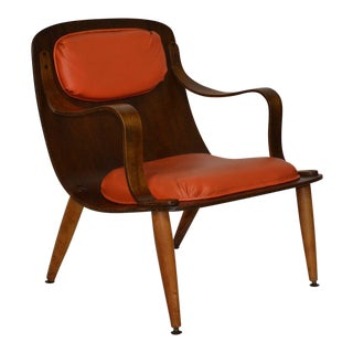 Mid-Century Bent Plywood Chair