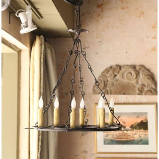 Moroccan Style Iron Chandelier