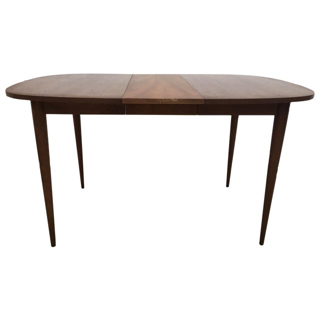 Image of Mid-Century Walnut Dining Table
