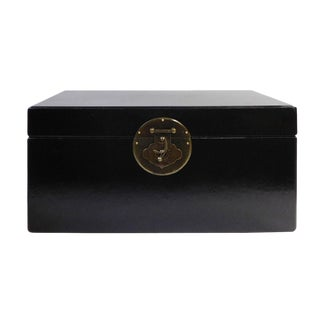 Chinese Black Rectangular Container Box