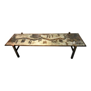 Stunning Tao Coffee Table by Philip and Kelvin LaVerne