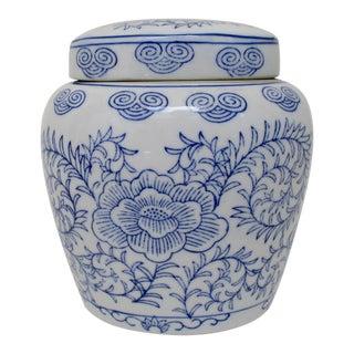 Porcelain Ginger Jar