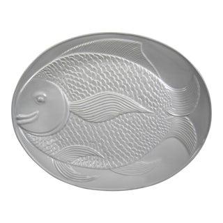 Portuguese Ceramic Fish Platter