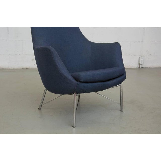 Image of SOLD Pastoe Ekselius Easy Chair with Metal Base