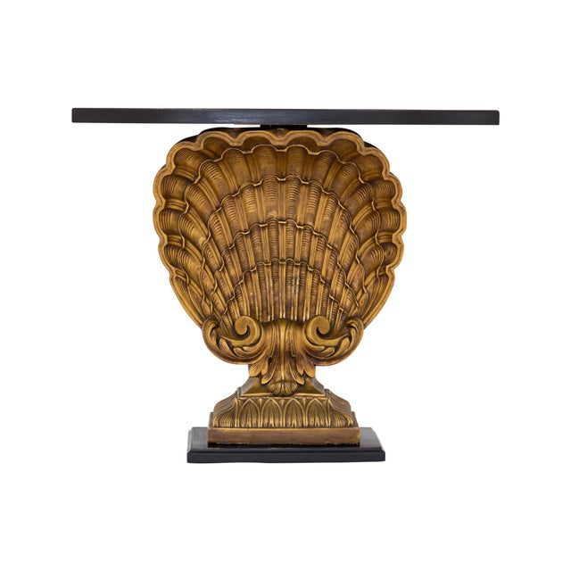 Grosfeld House Gilded Shell Console - Image 9 of 10