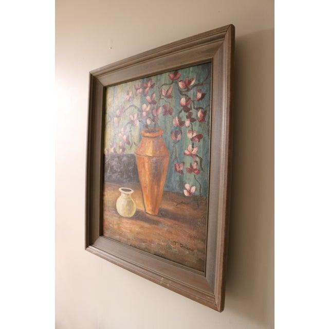 Image of Vintage Framed Still Life Painting