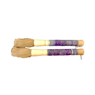 Chinese Calligraphy Brushes - A Pair